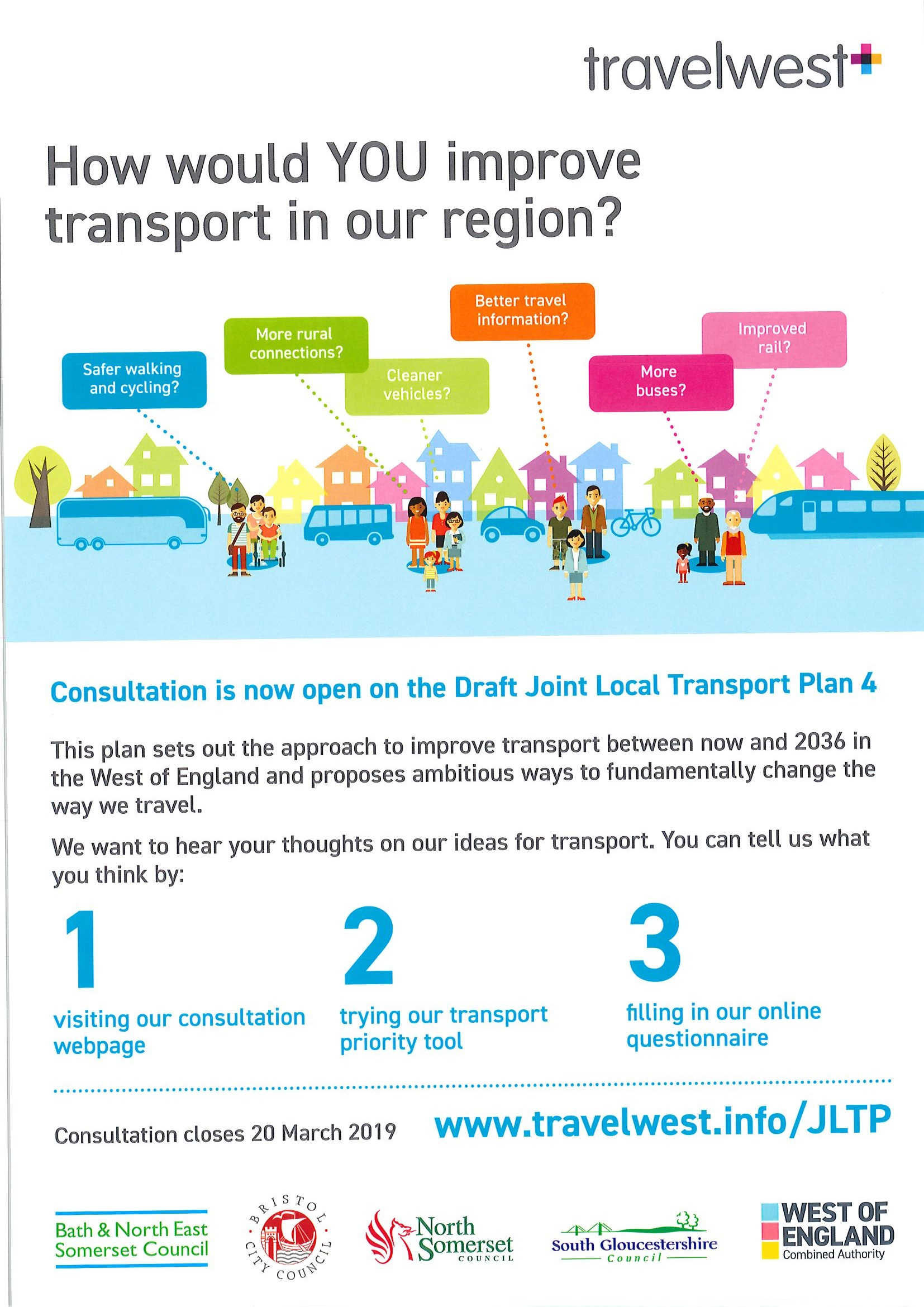 Draft Joint Local Transport Plan 4 consultation